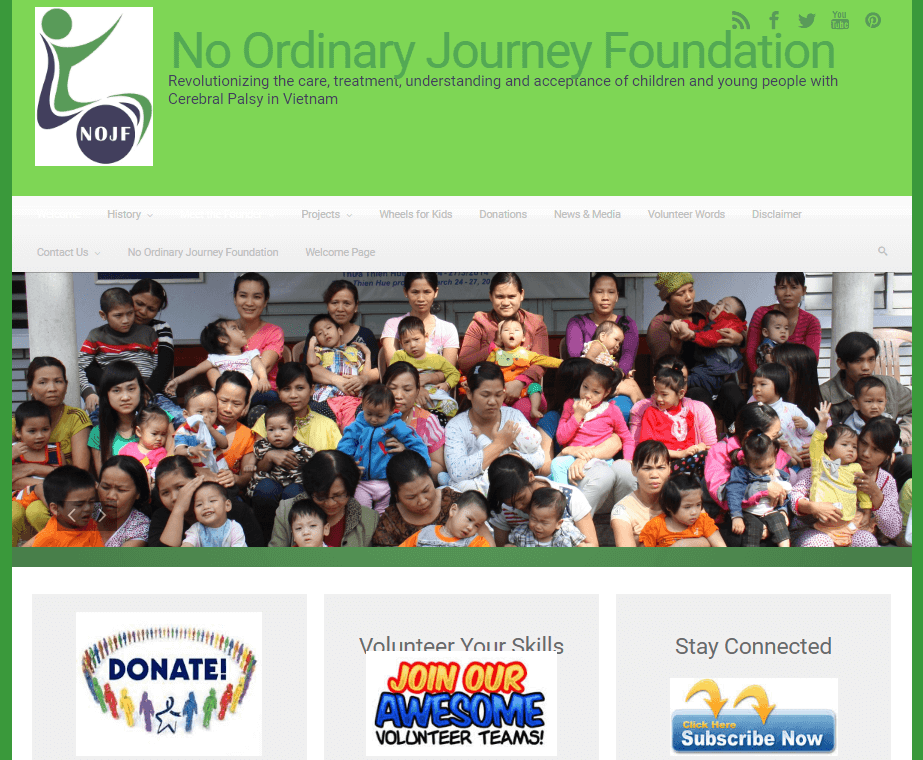 No Ordinary Journey Foundation
