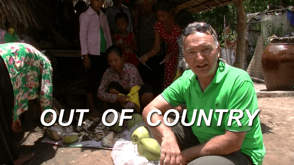 Out-of-Country is where I interview ordinary people who have done volunteer and philanthropy work helping in other countries