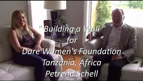 """Out of Country"" - Building a Wall in Tanzania - Petrena Schell"